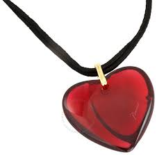 baccarat ruby heart pendant 1894453 baccarat ruby heart pendant 1894453