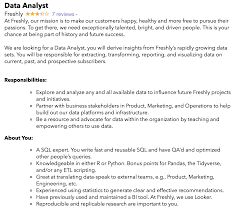 Data Analyst Job Description | Springboard Blog