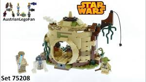 lego star wars 75208 yoda s hut lego sd build review