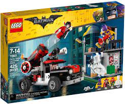 Đồ Chơi LEGO The Batman Movie 70921 - Xe Bắn Pháo Harley Quinn (LEGO The  Batman Movie 70921 Harley Quinn Cannonball Attack)