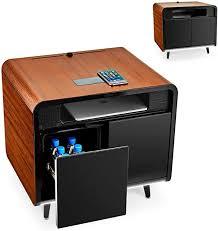 sobro smart coffee table with fridge