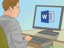 How To Write A Syllabus How To Write A Syllabus With Pictures Wikihow