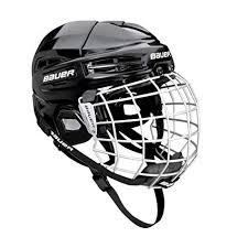 Bauer 2100 Helmet Size Chart Amazon Com Bauer Senior Ims 5 0 Ice Hockey Helmet Combo