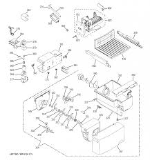 Ice maker wiring diagram monogram diagrams refrigera gregorywein stuck whirlpool schematics gold not getting water control kitchenaid making installation
