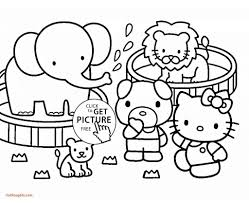 Zoo Coloring Pages Animal Pdf Phonics Realistic Printables Page The