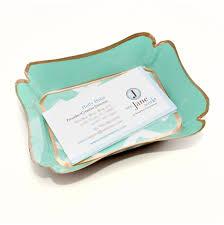 desk business card holder for women