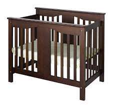 Amazon.com : DaVinci Annabelle 2-in-1 Mini Crib and Twin Bed, Espresso :  Baby