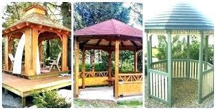 outdoor canopy backyard simple shade curtains diy deck canop