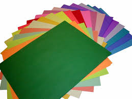Different Types Of Colored Paperll