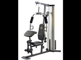 Xr 55 Home Exercise Golds Gym Review Youtube