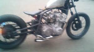 redemption cycles honda cb750 bobber hardtail w floating seat