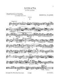 Rebecca Clarke: Viola Sonata | Presto Sheet Music