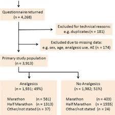 Flow Chart Of The Evaluation Of The Marathon Half Marathon