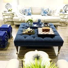 navy ottoman coffee table blue beautiful living incredible simplistic 11
