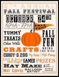 Fall Festival Flier Fall Fest Flyer 2015 Fall Fest Fall Treats Fall