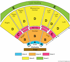 Verizon Amphitheater Seating Chart With Seat Numbers Verizon Wireless Amphitheatre Online Charts Collection