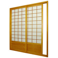 Oriental Furniture Shoji Double Sided Sliding Door Kit Room Divider |  Hayneedle