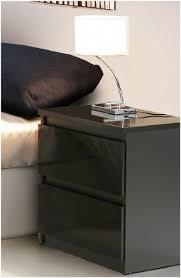 lucia black high gloss bedside table chlk12 c88