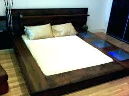 modern king bed frame
