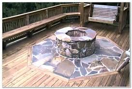 excellent deck safe fire pit fire pit wood deck fire pit mat for wood deck gas