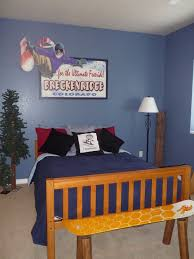 simple boys bedroom. Bedroom Design, Simple Boys Designs With Winter Themed Ideas And Slate Blue Wall Paint C