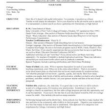 Free Musician Resume Template Impressive Music Resume Example Objective Examples Essay Wallpaper 26