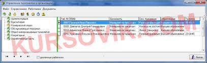 АИС Управление персоналом sql server или access Дипломная  АИС Управление персоналом sql server или access