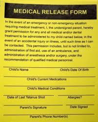 Medical Release Form For Grandparents Pin By Nan Olk On Family Medical Childrens Medical Children