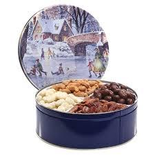 deluxe gourmet gift tin
