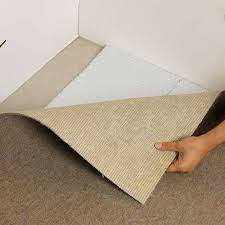 carpet pad with radiant barrier foil insulation