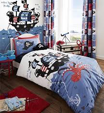 Kids Pirate Bedding 3 Piece Twin Size Sheet Set. $37.04 ...