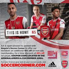 Jul 24, 2021 · all the latest news from arsenal football club, one of the most successful teams in the premier league era of english football. Arsenal America On Twitter Membership Benefits Thank You For Your Patience Merch Discount Code Provided Under The Member Benefits Page Scroll Down Https T Co 6sk6j37mwp Https T Co Agft39ugqz