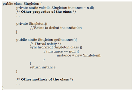 Singleton Pattern In Java Custom Inspiration