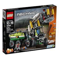 Mô Hình LEGO TECHNIC 42080 - Xe cẩu Gỗ gắn Động Cơ (LEGO Forest Machine)