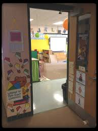 Brilliant Open Classroom Door Decorate The Inside Of My As Shown Intended Modern Ideas