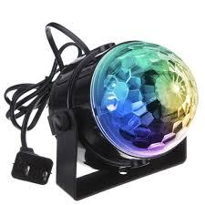 com dj light sound activated party lights disco ball kingso strobe club lights effect magic mini led stage lights for home ktv xmas