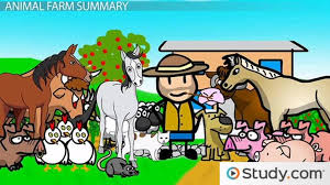 Lesson Themes Farm Characters com Animal Video Study Orwell's amp; Summary And - Transcript