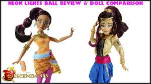 Disney Descendants Neon Lights Dolls Disney Descendants Neon Lights Ball Jordan Review Doll Comparison