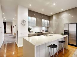 Small Picture Modern open plan kitchen design using hardwood st George site