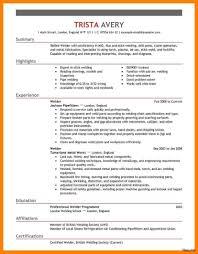 Welder Resume Examples Best Welder Resume Sample Welding Examples