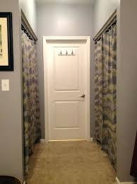 closet door ideas curtain. Closet: Curtains For Closet Doors Ideas Home Design Using Door Curtain
