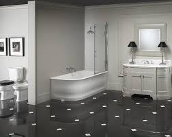 Pavimento Scuro Bagno : Pavimento bagno bianco e nero avienix for