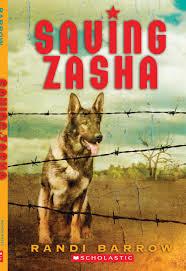book saving zasha by randi barrow