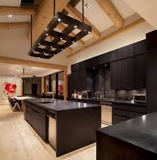 Dark Wood Floors In Kitchen The Charm In Dark Kitchen Cabinets