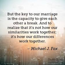 Marriage Quotes Extraordinary Michael J Fox Marriage Quotes Double Quotes