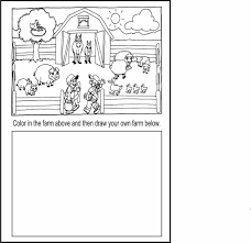 Small Picture Coloring Pages Of Farm Animals And Their Babies Coloring Pages