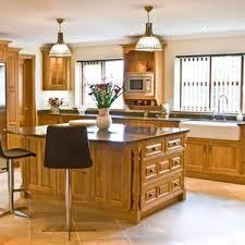 Oak Kitchen Newquay Mark Stones Welsh Kitchens Bespoke Medium Honey