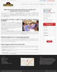Web Designers In Detroit Injury Lawyers In Detroit Sf Website Design Web Design