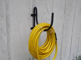 garden hose caddy. Wall Mount Garden Hose Holder Black Wrought Iron By The Lazy Scroll. Loading Zoom Caddy