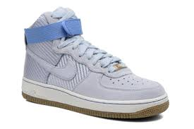womens nike air force 1 white. Nike Wmns Air Force 1 Hi Prm Trainers In Blue Women,nike Max Plus,exclusive Deals Womens White